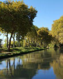La canal du Midi, balade au fil de l'eau